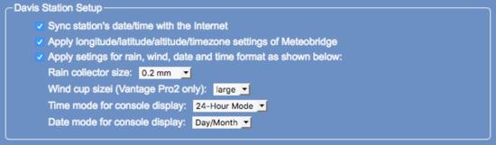 Forum - meteobridge